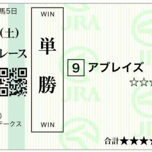 667日目:2021/4/24(土) 東京・阪神・新潟40頭/福島牝馬S◎アブレイズ