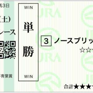 673日目:2021/5/1(土) 東京・阪神・新潟 勝負馬38頭/青葉賞◎ノースブリッジ/POG馬キングストンボーイ&スワーヴエルメ