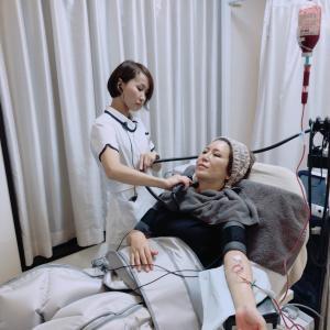 たるみ治療も点滴も痩身治療まで一気に(笑) ①