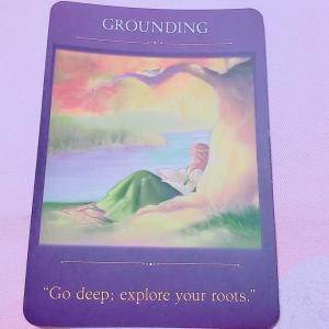 【1/28 オラクルカードメッセージ】~深くまで、自分の根本を探求しなさい~