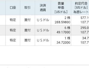 【VOO・VEU】主力ETFを買い増ししました。