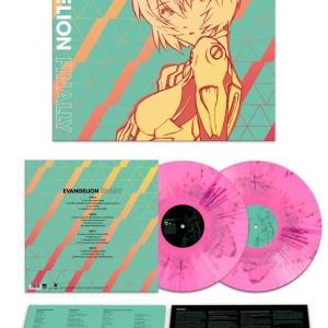【輸入盤はよくわかりません><】Evangelion Finally [12 inch Analog] ピンク盤 エヴァ LP アナログ