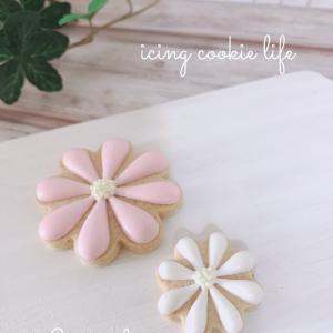 ぷっくりかわいいお花のクッキー♡