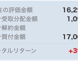 分配金【毎月分配型投信】(5回目:2021/01)