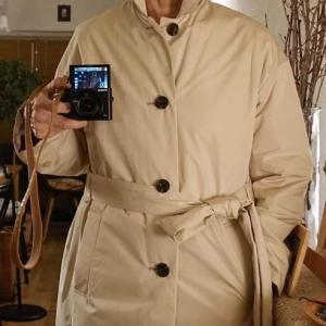 ■珍しく洋服のコートを買う と 江戸時代の蕎麦猪口