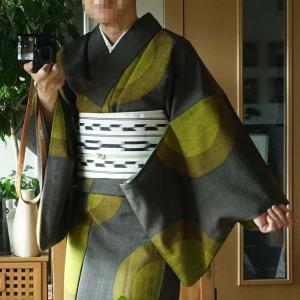 ■40年前のウールの着物で大阪市美へ