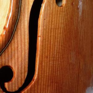 ヴァイオリン2制作 その4