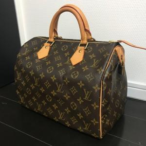 ヴィトンのモノグラムのバッグは、まるで新品に変えられる?!