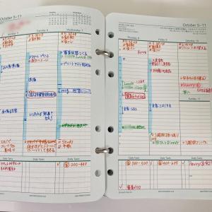 「忙しくて、何も出来ません」という方は、こんな手帳を使いましょう