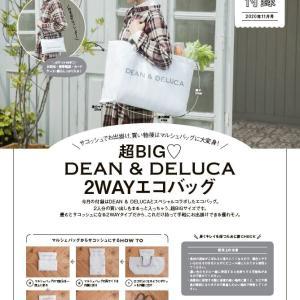 ゼクシィ 2020年 11月号   雑誌付録   DEAN & DELUCA 2WAYエコバッグ