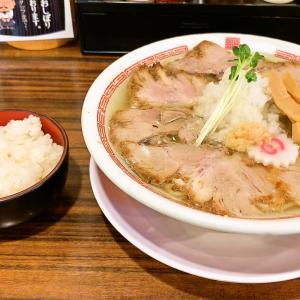 魁 肉盛りつけ麺 六代目けいすけ@湯島(肉そば塩)