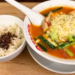 太陽のトマト麺@上野広小路(太陽のチーズラーメン)