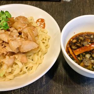 魁 肉盛りつけ麺 六代目けいすけ@湯島(肉盛りつけ麺)