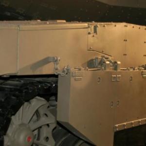 メルカバ戦車のサイドスカート