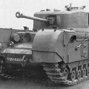 チャーチル歩兵戦車の更新計画