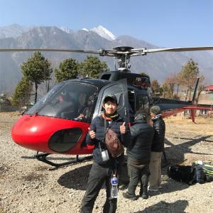 【人生初】ヘリコプターでルクラ(Lukla)へ!