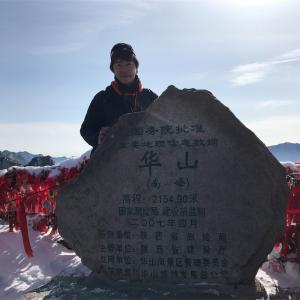 かけがえのない1日、華山での出会い。^_^