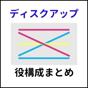 【保存版】ディスクアップ配当表・役構成まとめ【マニア向け】