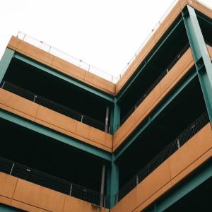 CONTAX G1と立体駐車場