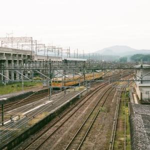 CONTAX G1と厚狭駅跨線橋からの眺め、その2