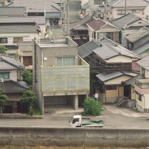 PENTACON six TLと青海島・王子山公園から観た仙崎の街並みその2