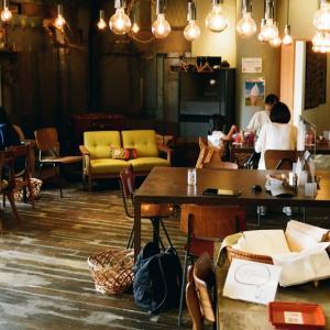 PENTAX MZ-3とライト光るカフェ360の屋内