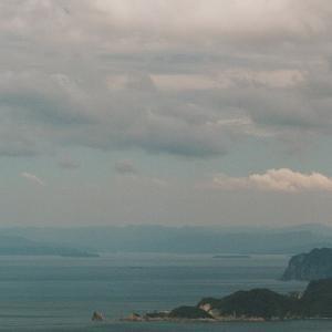 PENTAX 67と青海島、萩遠景