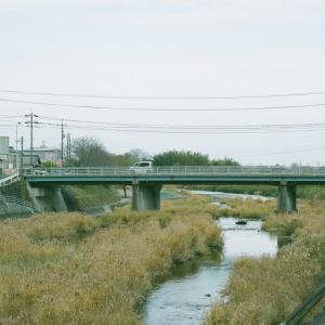 GA645Ziと観月橋と深川川