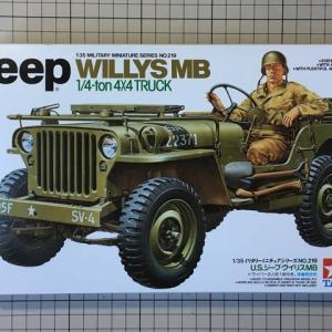 1/35 Jeep ウィリスMB 製作(その1)