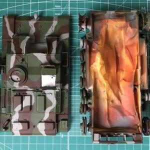 RC可動化 Ⅲ号突撃砲G型 フィンランド軍(その6)