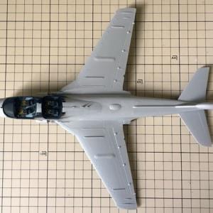 1/72 ハセガワ EA-6B プラウラー(ハイビジ)製作(その3)