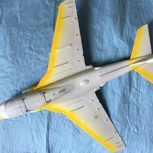 1/72 ハセガワ EA-6B プラウラー(ハイビジ)製作(その5)