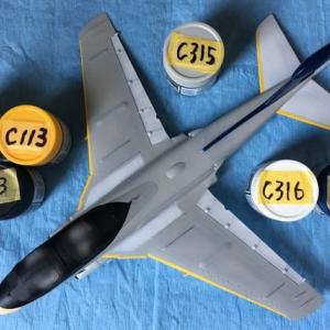 1/72 ハセガワ EA-6B プラウラー(ハイビジ)製作(その6)
