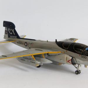 1/72 ハセガワ EA-6B プラウラー(ハイビジ)製作(その8 完成)
