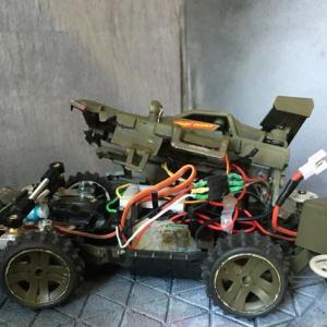 ミニ四駆 ホットショットJr.製作&RC化(その3・仕様変更)