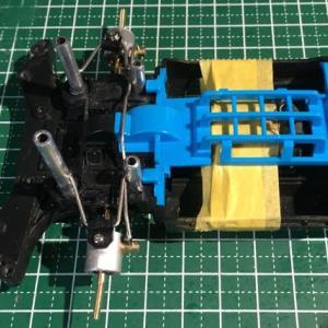 ミニ四駆 ホットショットJr.製作&RC化(その7 ・4輪独立懸架)