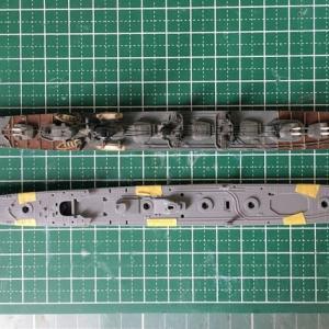 1/700 タミヤ 日本海軍駆逐艦 島風 (その2)