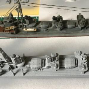 1/700 タミヤ 日本海軍駆逐艦 島風 (その3)