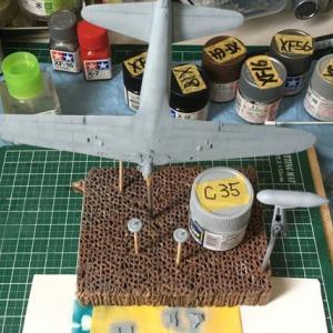 1/72 零式艦上戦闘機二二型 製作(その5)
