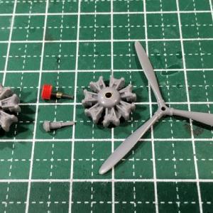 1/72 97式3号艦上攻撃機 製作(その2)