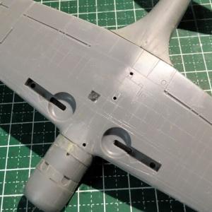 1/72 97式3号艦上攻撃機 製作(その4)