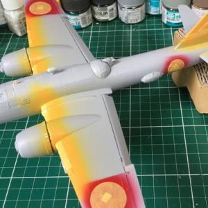 1/72 四式重爆撃機 飛龍 製作(その7)