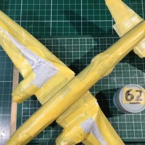 1/72 四式重爆撃機 飛龍 製作(その8)