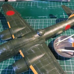 1/72 四式重爆撃機 飛龍 製作(その9)