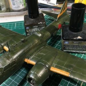 1/72 四式重爆撃機 飛龍 製作(その10)