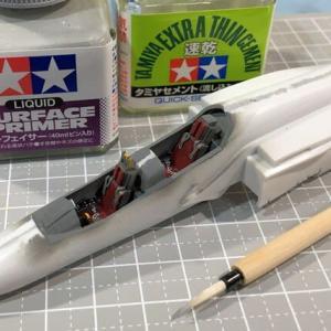 1/72 T-4 ブルーインパルス 製作(その3)