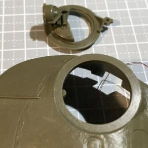 RC可動化 1/35 タミヤ T-72M1 製作(その4)