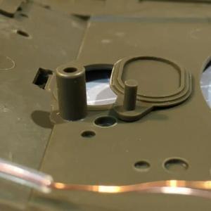 RC可動化 1/35 タミヤ T-72M1 製作(その6)