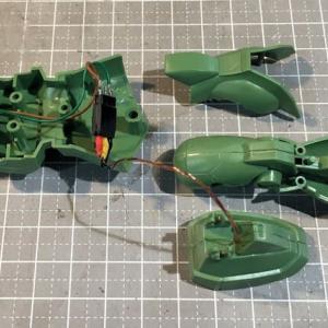 FG MS-06F ザクII 製作(その2)