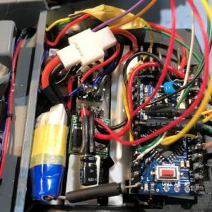 1/24 アオシマ デロリアンⅡ製作(その11 Arduinoでのコントロール)